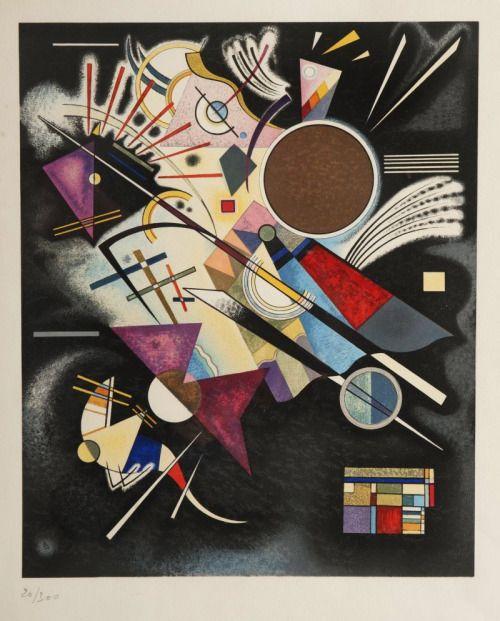 retroavangarda: Wassily Kandinsky Composition, 1924-40