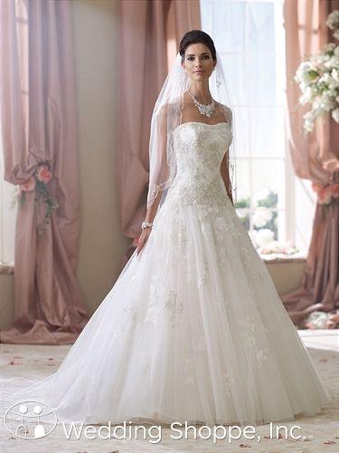 Bridal Gowns David Tutera for Mon Cheri Ivy Bridal Gown Image 1