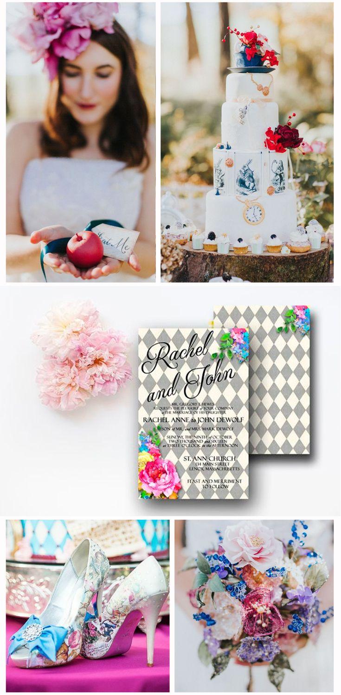 Alice in Wonderland inspired wedding ideas | Alice in wonderland ...