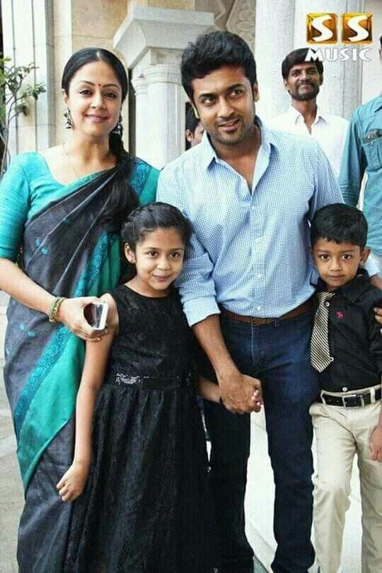 Surya with his family | sartaj | Surya actor, Indian