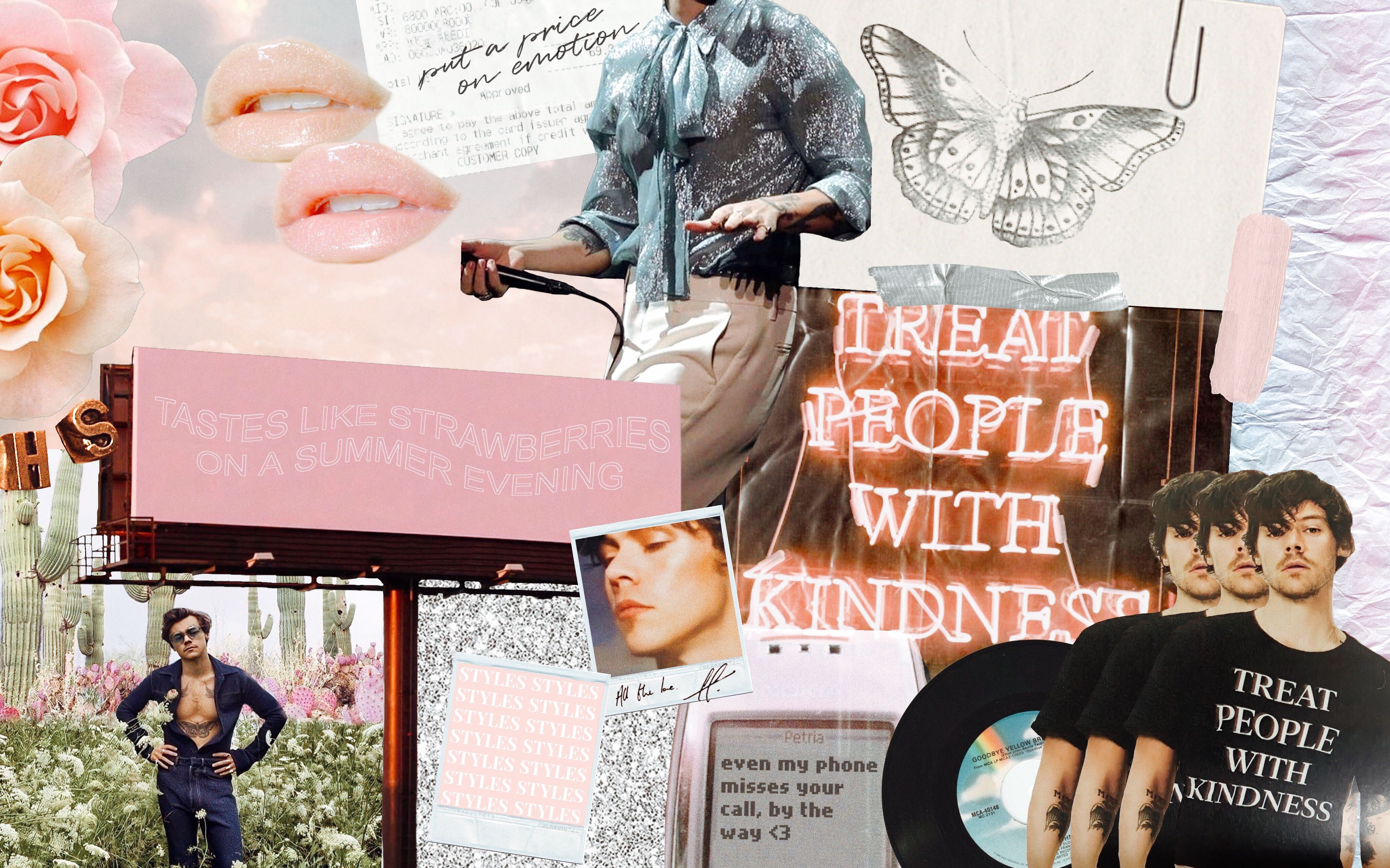 Harry Styles Mac Wallpaper Collage Harry Styles Wallpaper Harry Styles Songs Harry Styles Photos