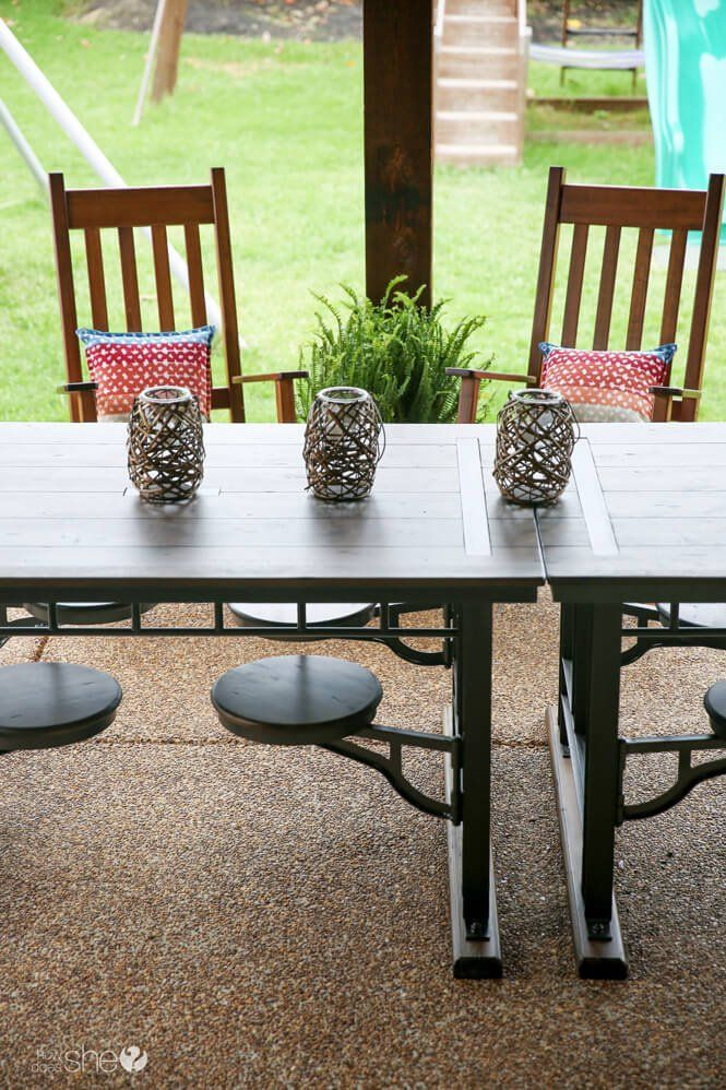 4 super easy tips to create a outdoor oasis on a budget ...