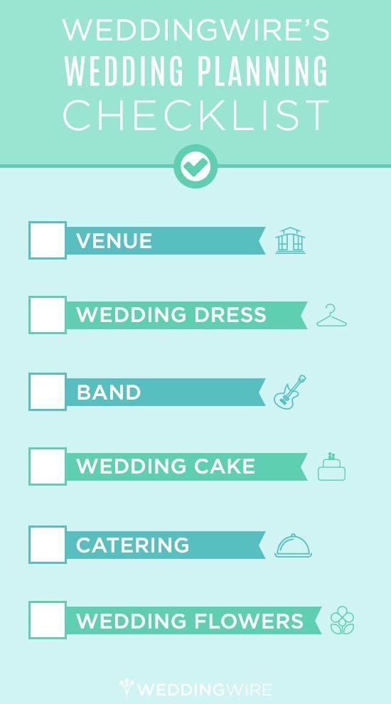 complete wedding check list