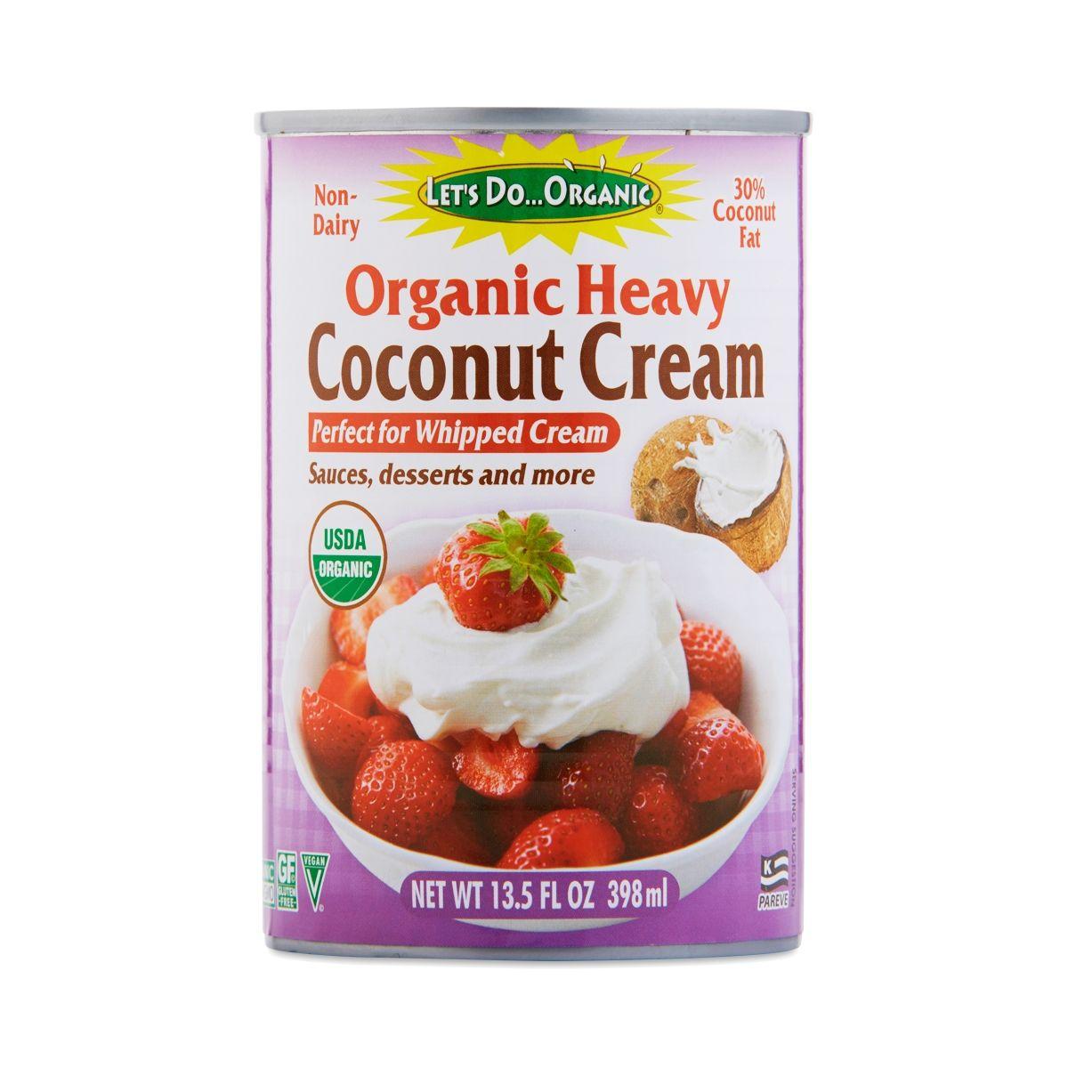 Let S Do Organic Organic Heavy Coconut Cream Organic Coconut Cream Coconut Cream Benefits Of Organic Food