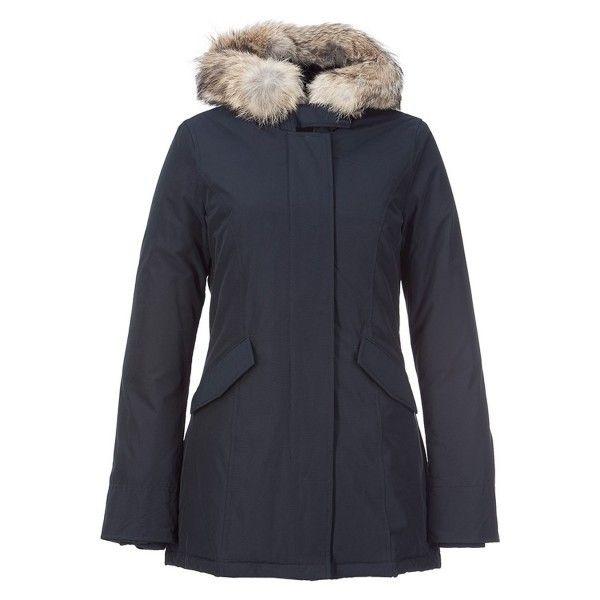 promo code 509ec d3c90 Woolrich Women Artie Parka Blue | My Style | Winter jackets ...