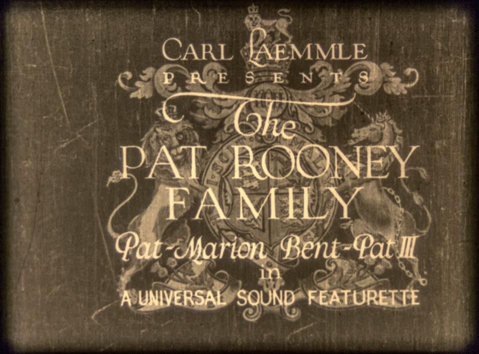 Title sequence  Credits | The Royal Pair (1929) | Via Ralph