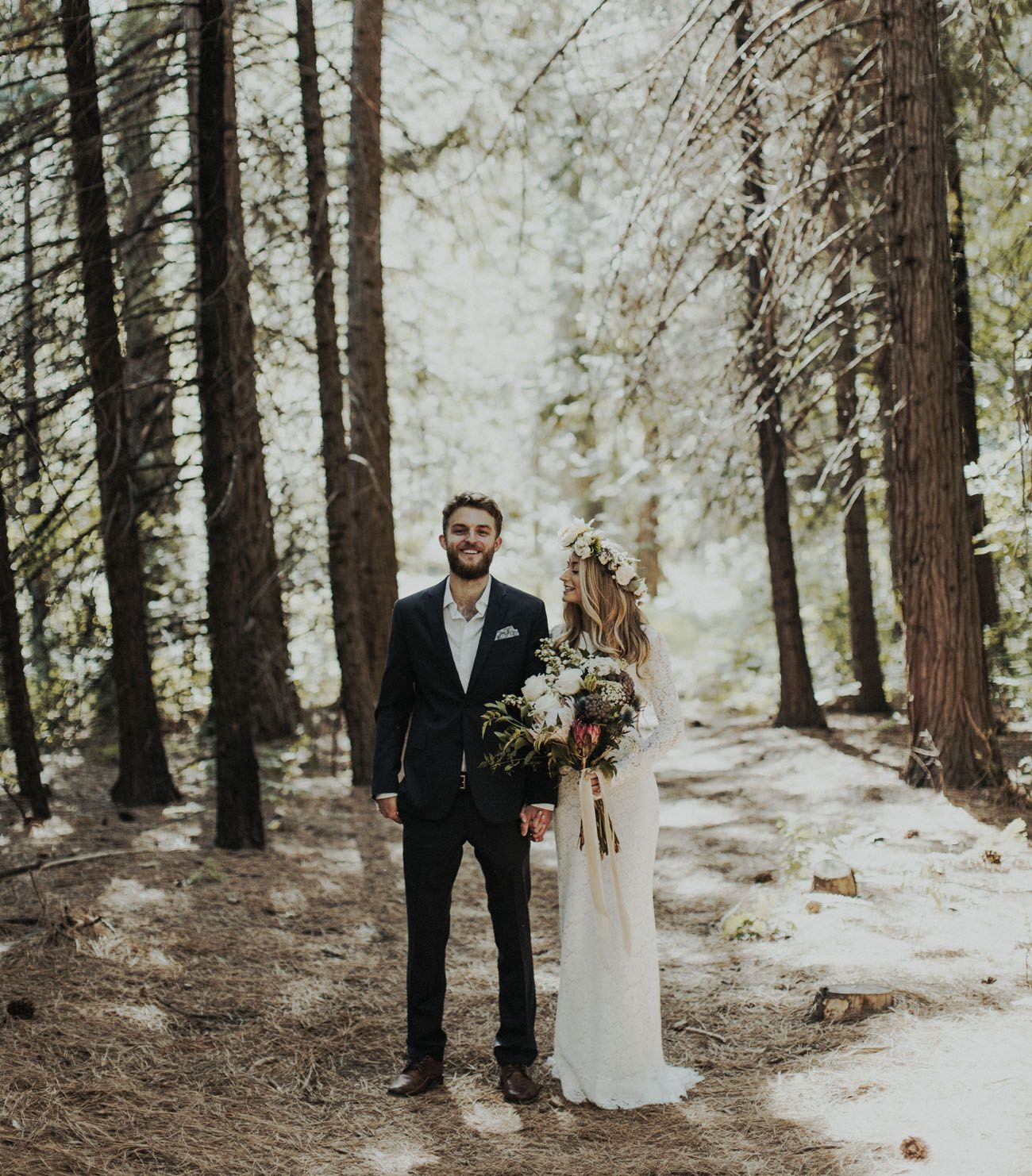 Wedding Elopement Ideas: Romantic Yosemite Elopement: Rayne + Michael