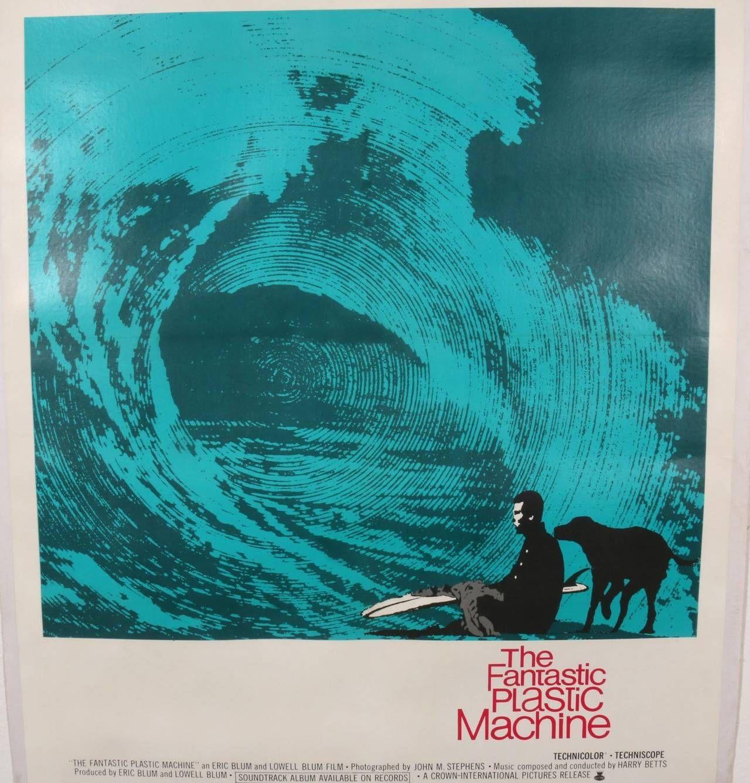 Original Vintage 1969 Surf Movie Poster, The Fantastic