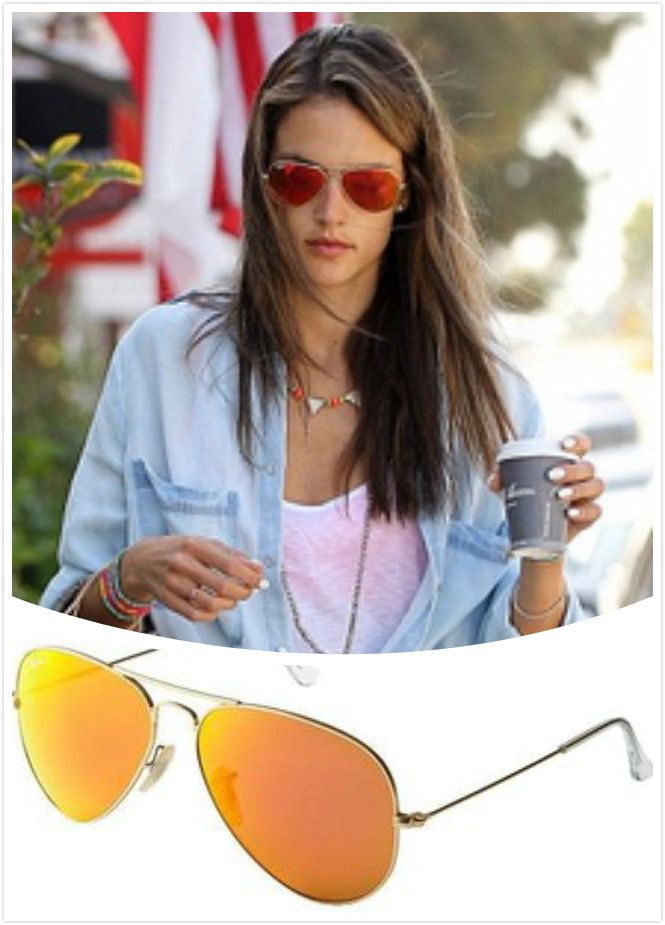 Ray Ban Mirrored Aviator Sunglasses  17 best images about rayban aviator on pinterest