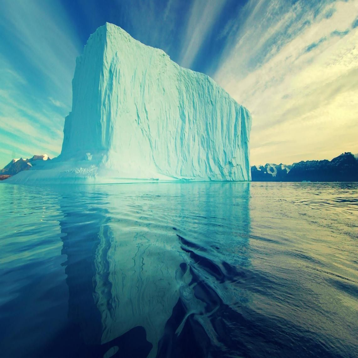 Ice Berg from Artic