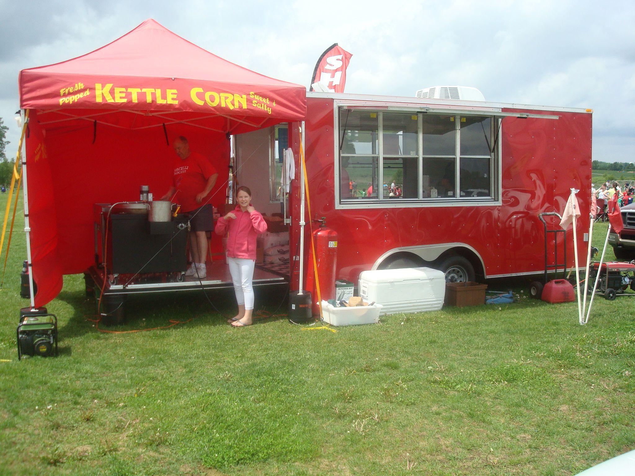 Kettle Corn Wisconsin The Flying Kettle Funnel Cakes Vendor