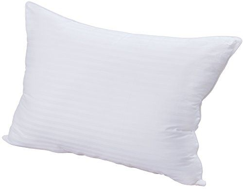 Utopia Bedding Premium Super Plush Fiber Filled Pillows Queen Single Pack 100 Cotton T240 Mercerized Shell Dust Mit Pillows Utopia Bedding King Size Pillows