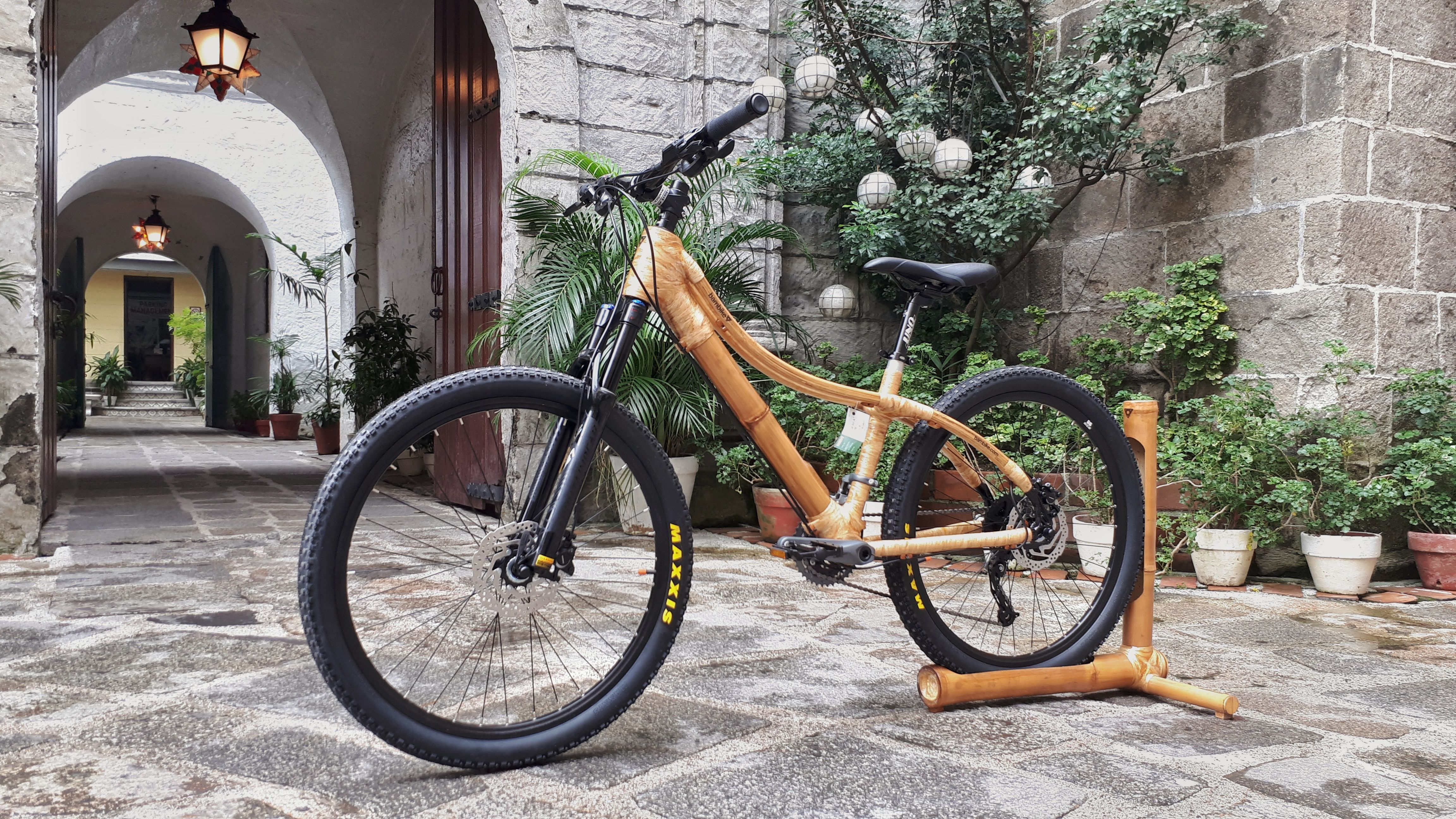 A Mountain Bike That Could Be Use For Trails Double Top Tube