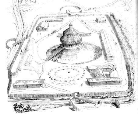 Motte Hoverberg Burg Burgen Und Schlosser Festungen
