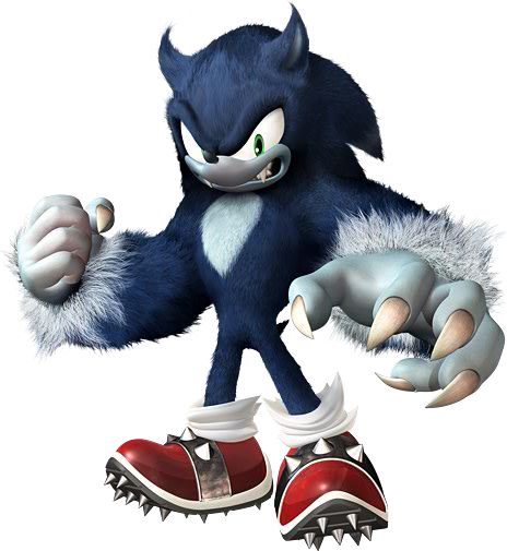 Sonic The Werehog With Images Sonic Unleashed Sonic Sonic