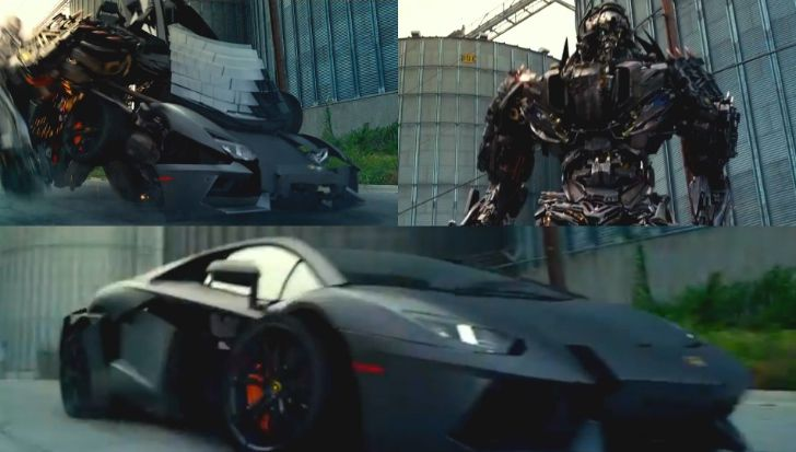 Lamborghini Aventador Is A Decepticon In New Transformers Movie Video Transformers Movie Lamborghini Aventador Transformers
