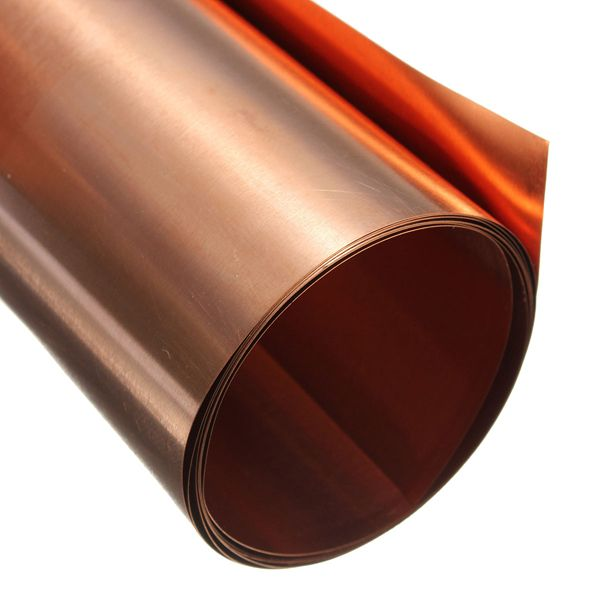 99 9 Pure Copper Metal Sheet Foil Plate 0 1 X 200 X 1000 Mm Mechanical Parts From Tools Industrial Scientific On Banggood Com Copper Foil Tape Metal Sheet Copper Foil