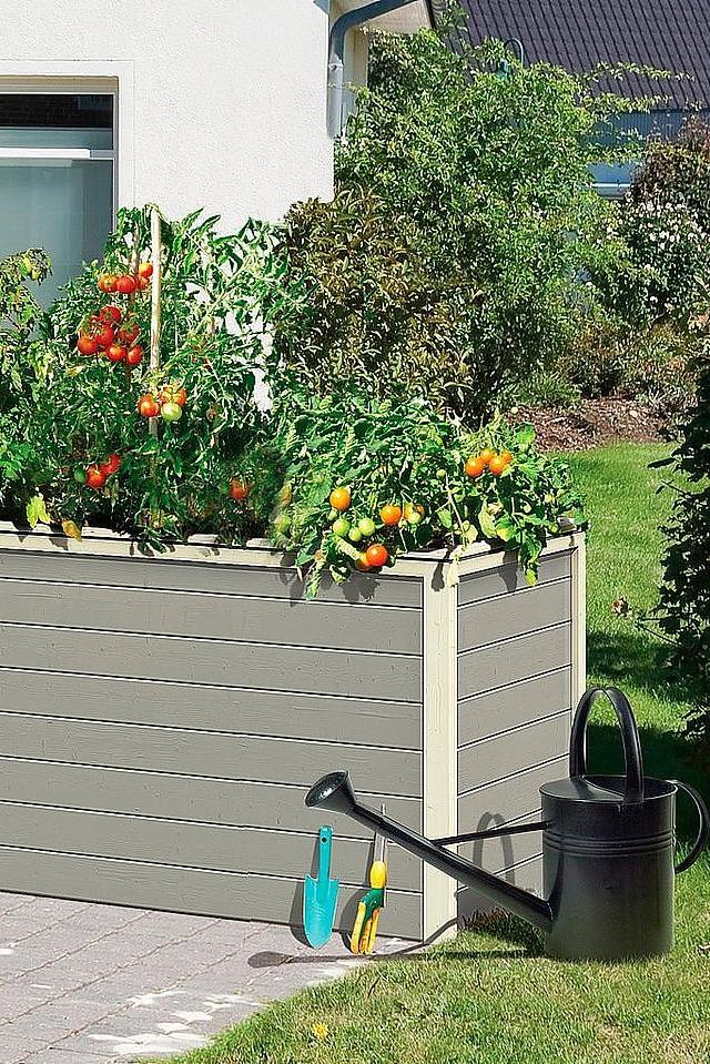Karibu Hochbeet 2 Bxtxh 173x89x82 Cm Per Rechnung Gartenbau Hochbeet Dachgarten