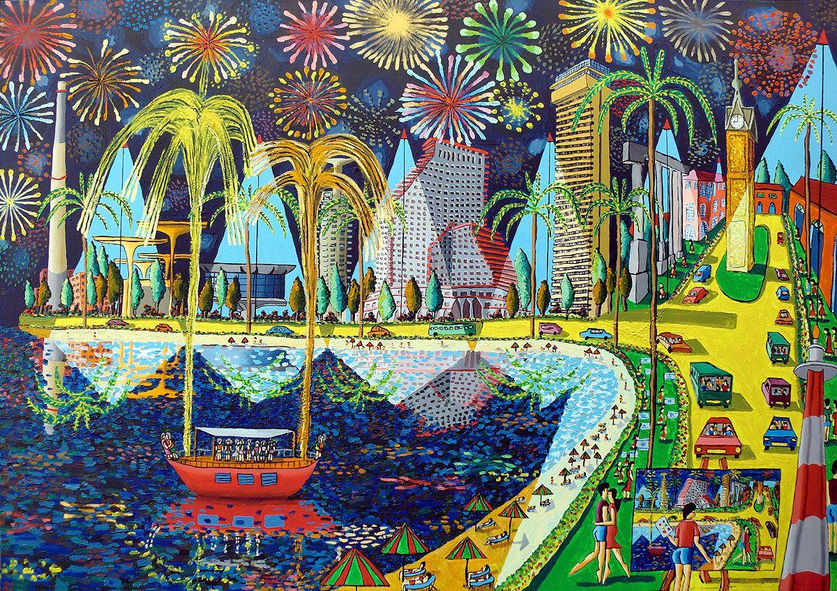 Raphael Perez Israeli Artist on Twitter: naive painting