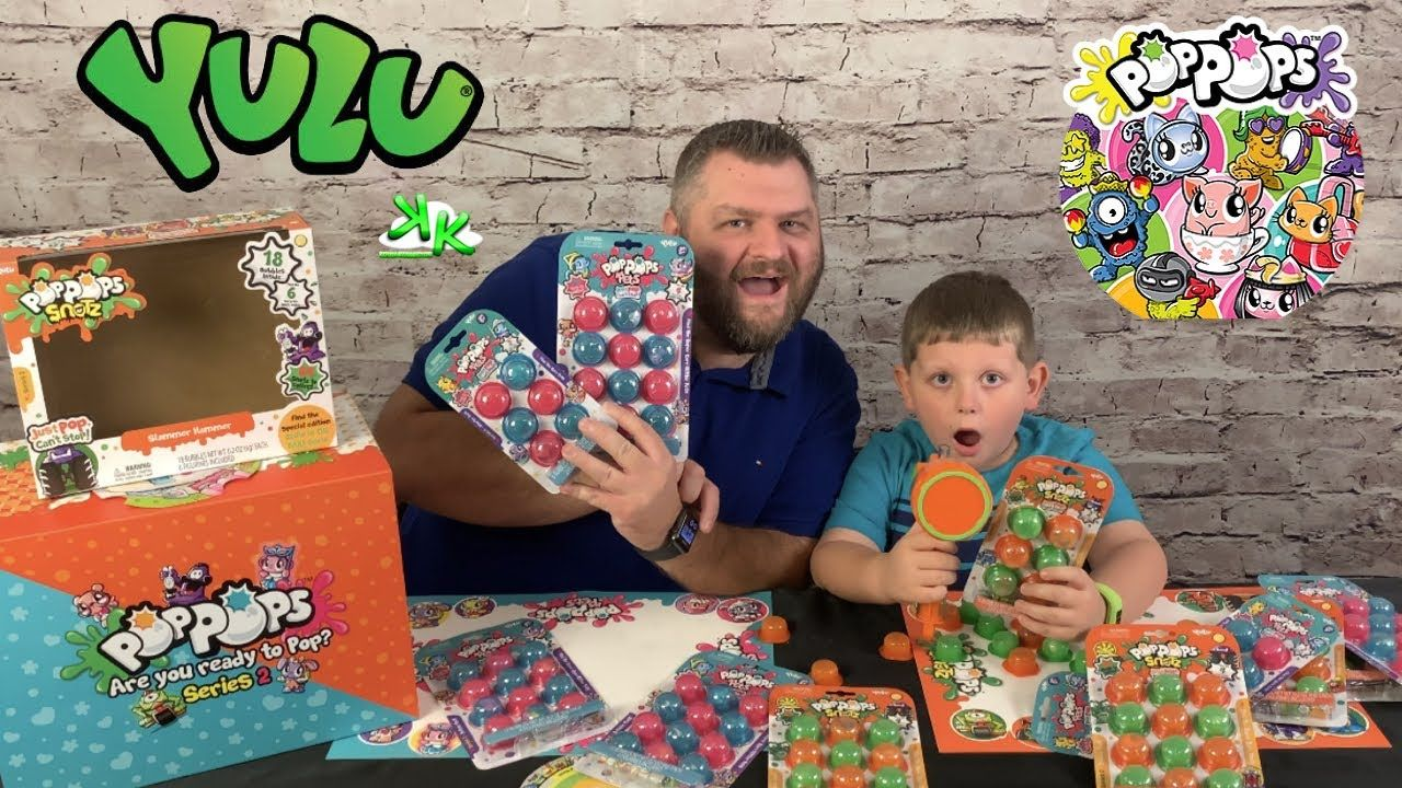 Pop Pops Pets And Pop Pops Snots Series 2 With Slammer Hammer Popping Bubbly Slime Cute Surprises Pop Bubble