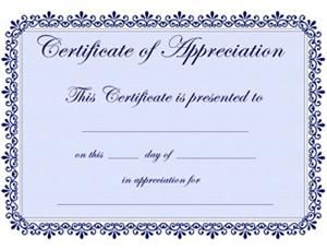 Sample certificate of appreciation template certificate of on valentine certificate templates appreciation teacher scouting yadclub Image collections