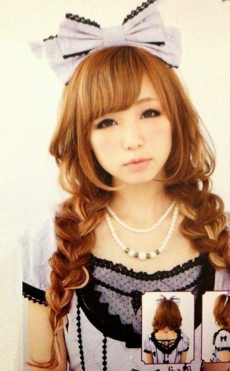 lolita kawaii hairstyle