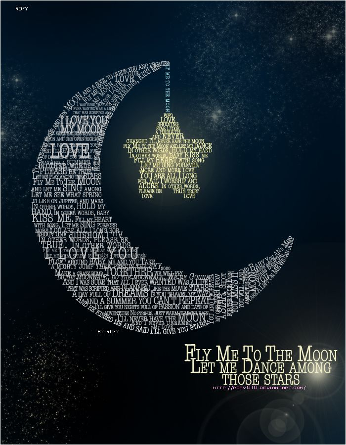 Fly Me To The Moon By Rofy010 On Deviantart Moon Wedding Theme