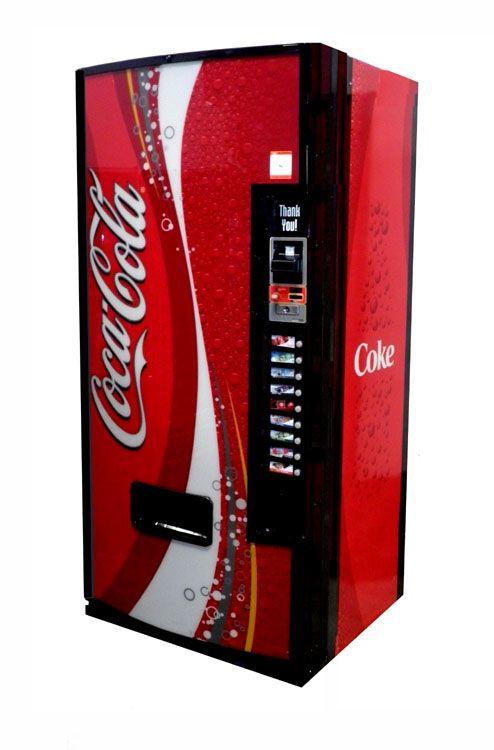 Dixie Narco Model 600E 12oz Can Soda Machine - Pepsi ...
