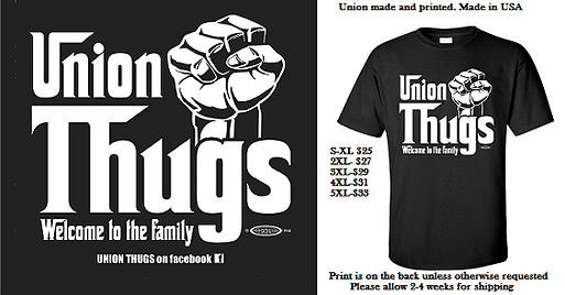Union Thugs Union Teacher Union Welcome To The Family