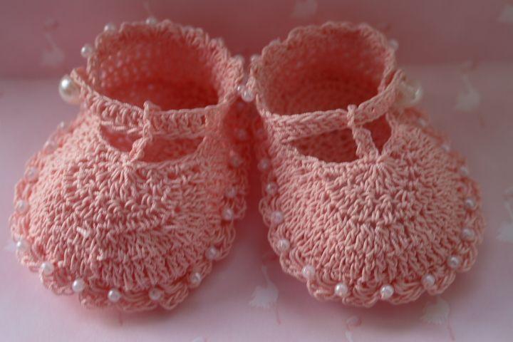 CC2-Fancy Crochet T-Strap Baby Booties Pattern | crochet for babies ...