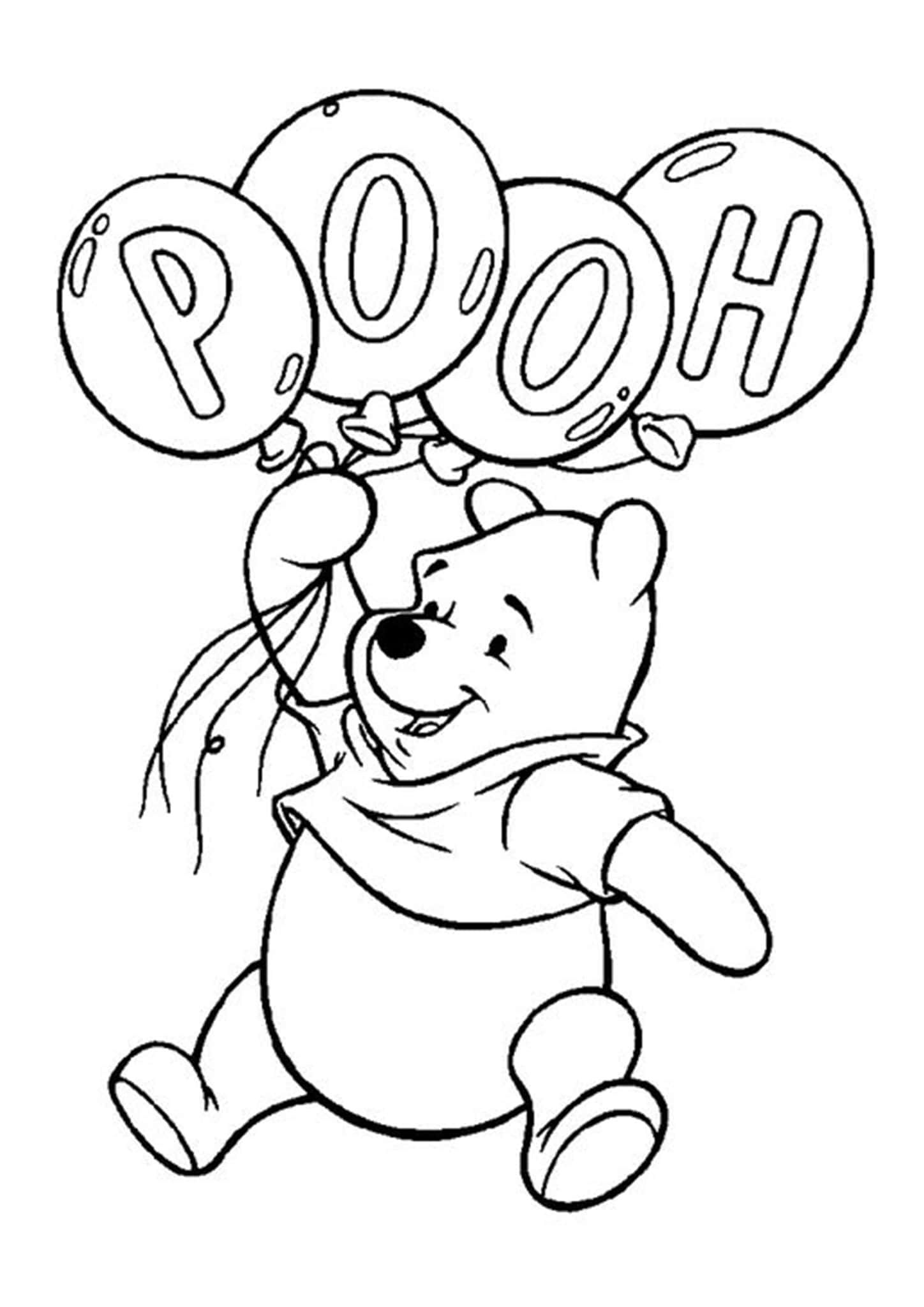 Gallery Free & Easy To Print Winnie the Pooh Coloring Pages is free HD wallpaper.