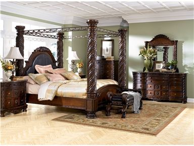 Shop For Millennium Dresser B553 131 And Other Bedroom Chests And Dressers At Ashley Furniture Homestore In Glendale Az Avondal Canopy Bedroom Sets King Bedroom Sets North Shore Bedroom Set
