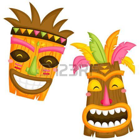Como hacer una mascara tiki buscar con google moama for Tiki hawaiano