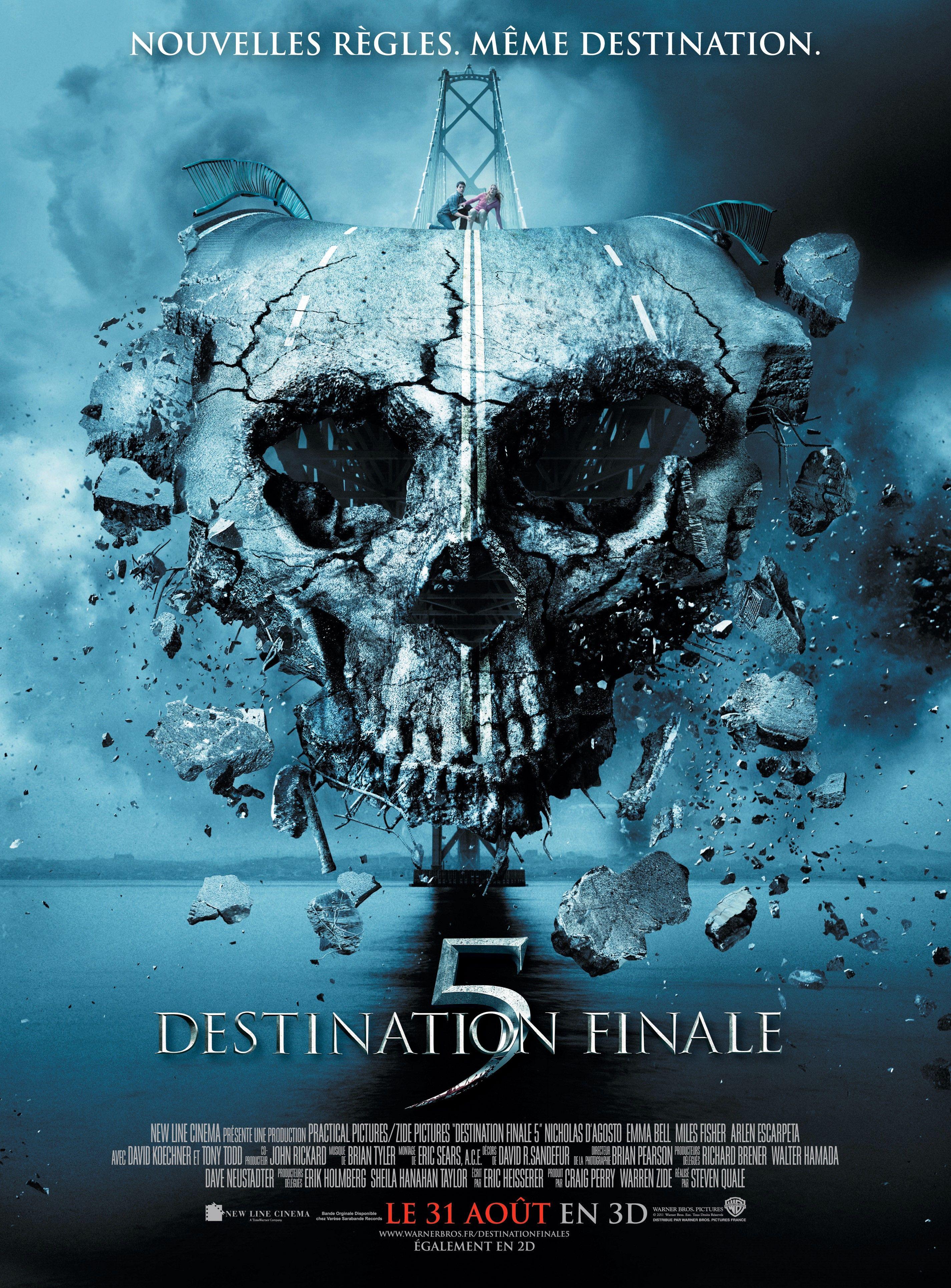 Destination Finale 5 2011 Jpg 2851 3859 Affiches De Films D Horreur Film Meilleur Film Horreur