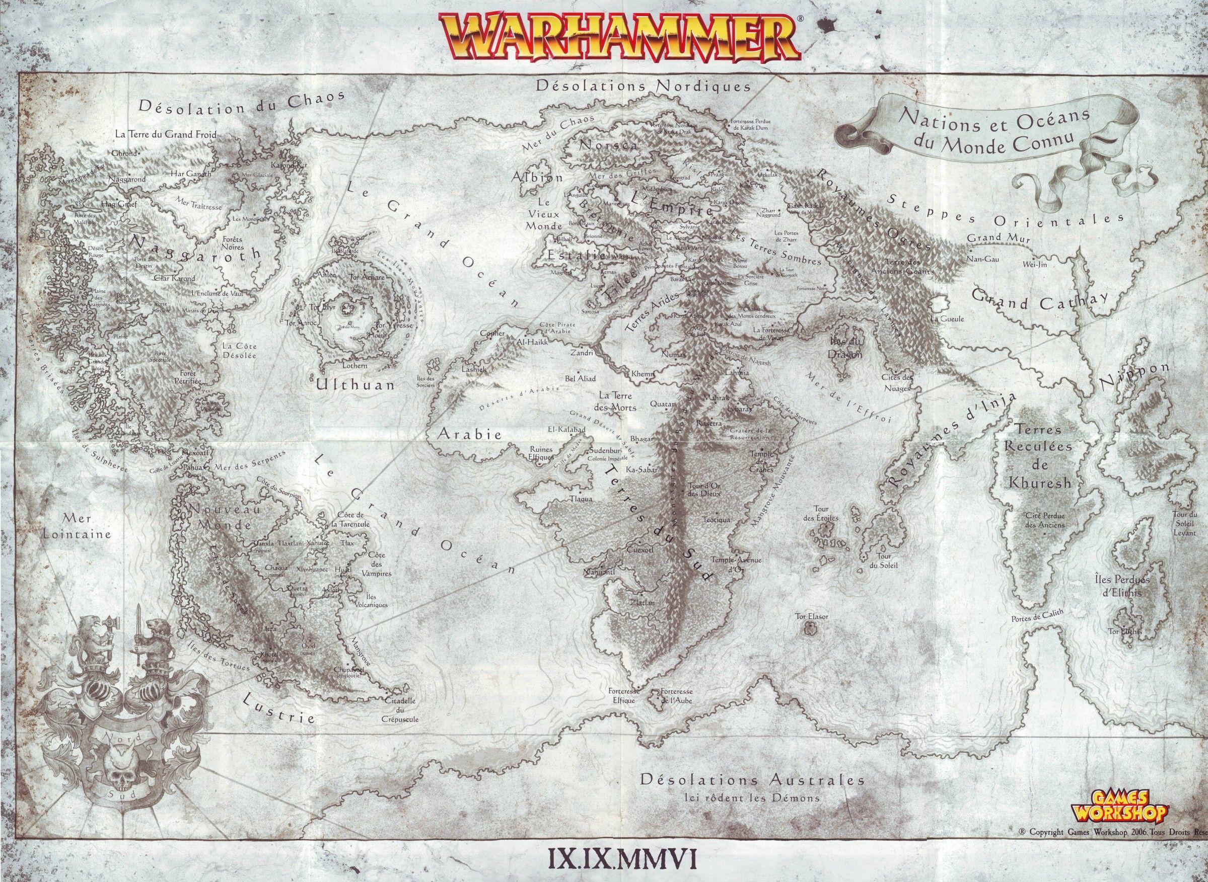 Warhammer World Games Workshop In 2019 Fantasy Map Fantasy