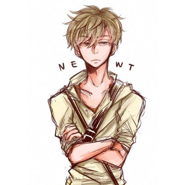Newt - The Maze Runner Fan Art (37686659) - Fanpop ❤ liked on ...
