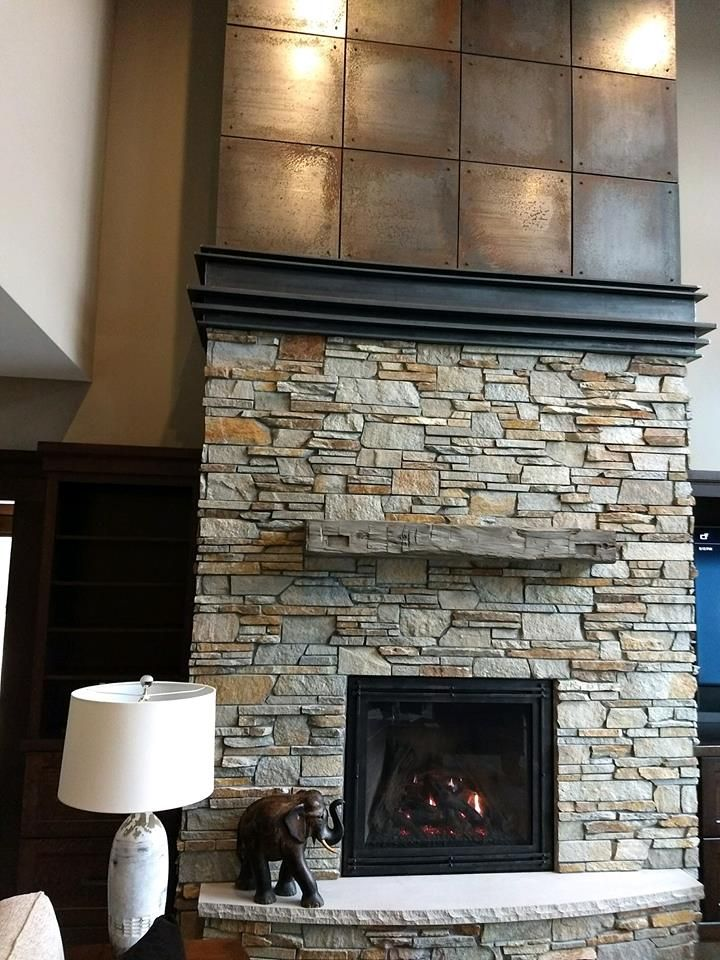 Great American Fireplace Installed This Kozy Heat Carlton 39 Gas With Magra Hearth Concrete Mantel