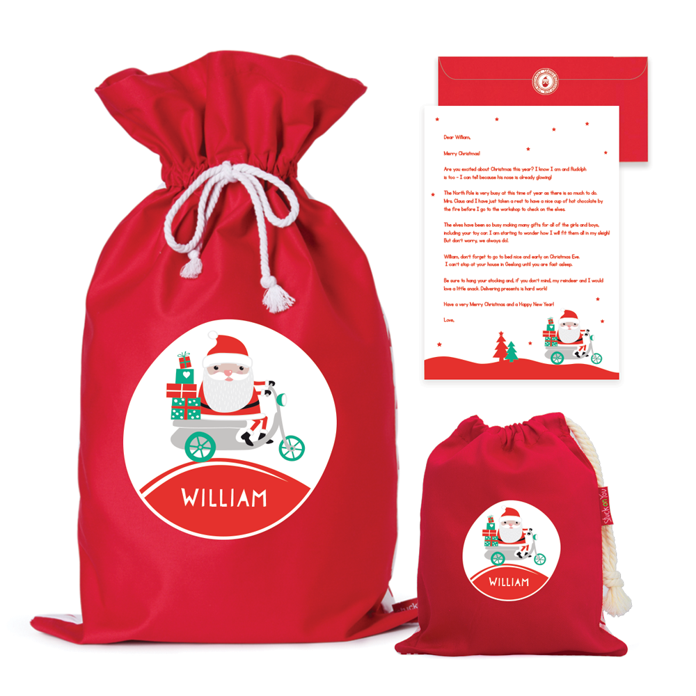 Christmas Value Pack Our Beautiful Cotton Canvas Personlised Santa Sacks Have Been Designed To Last From Your Child S Fi Santa Sack First Christmas Christmas