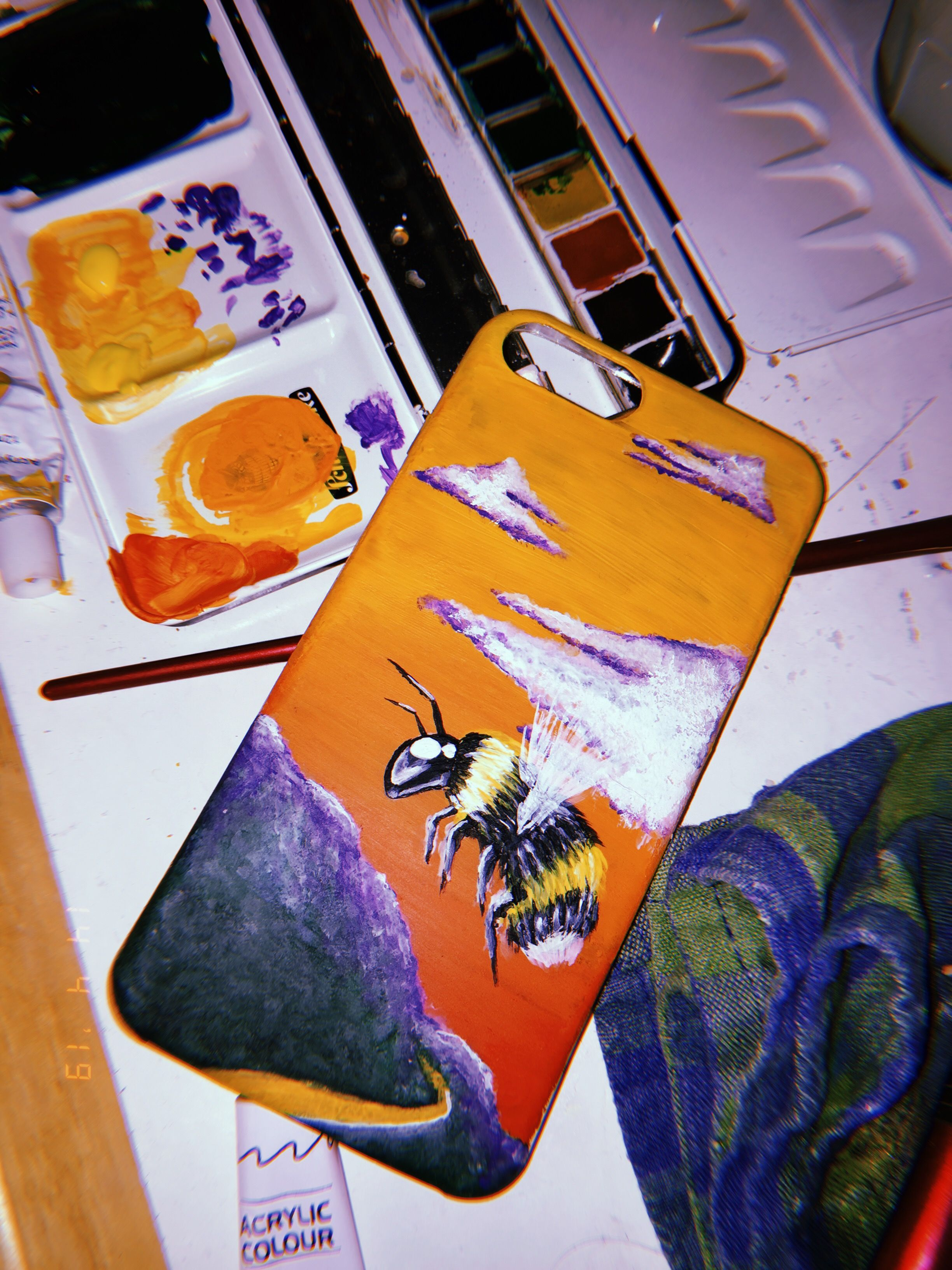 Phone case diy paint image by M I A
