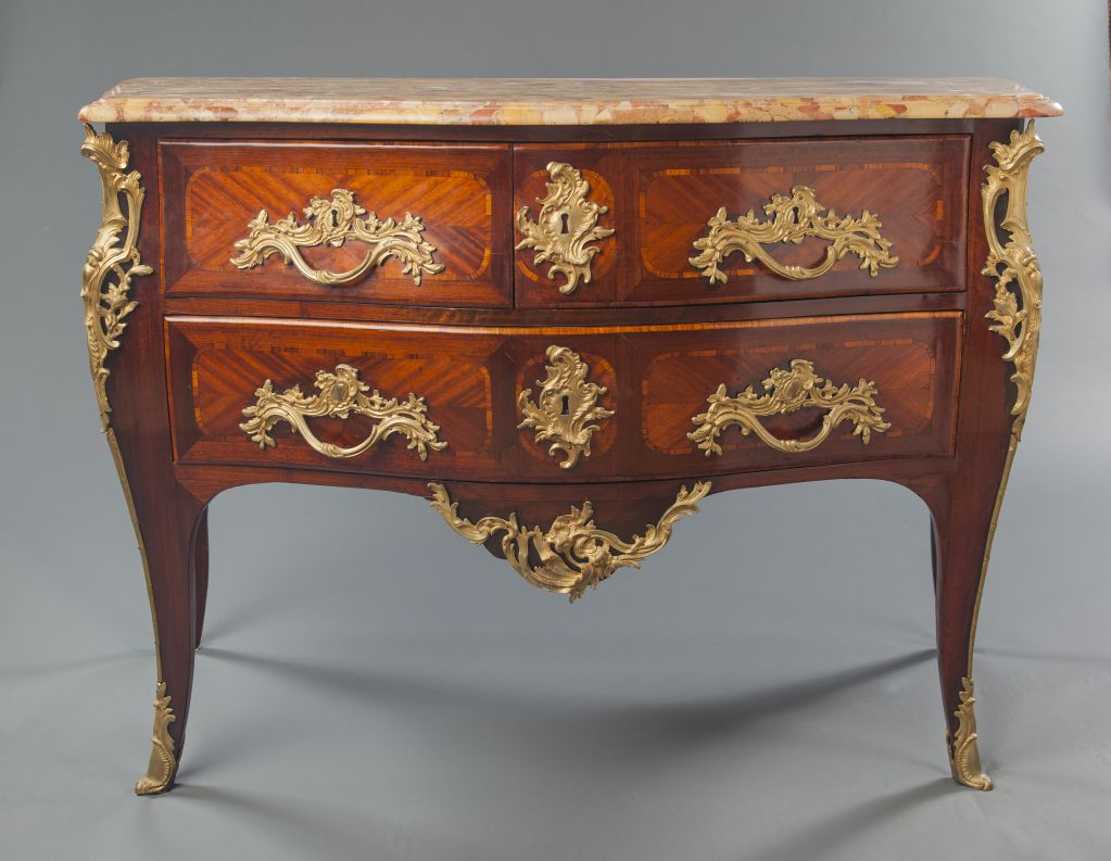 """Louis Xv Commode French Louis Xv Period Commode Stamped """"j.bsaunier""""  Georgian ."""
