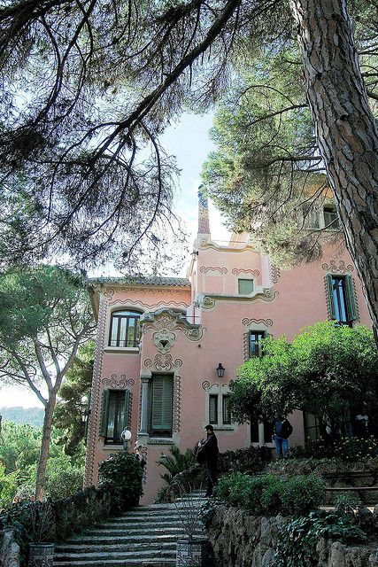 Casa Museo Gaudi.10 Parque Guell Casa Museo Gaudi 01 13199 In 2018 Architecture