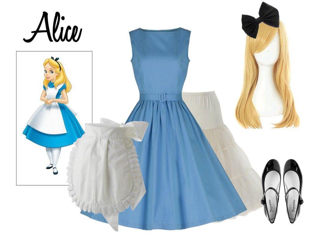 Fancy Dress Ideas Disney Fancy Dress Alice In Wonderland