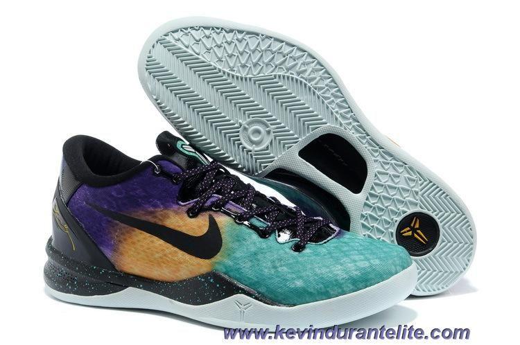 Discounts Nike Kobe 8 System GC 555286-302 Easter FBRGLSS/CRT PRPL-BLCK-LSR PRPL