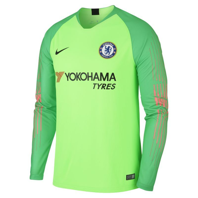 new arrival 2b72e b017a 2018/19 Chelsea FC Stadium Goalkeeper Men's Long-Sleeve ...