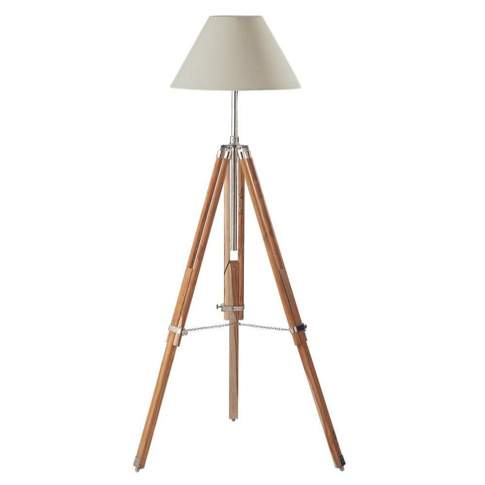 stehlampe mit dreifu maison du monde lamps pinterest. Black Bedroom Furniture Sets. Home Design Ideas