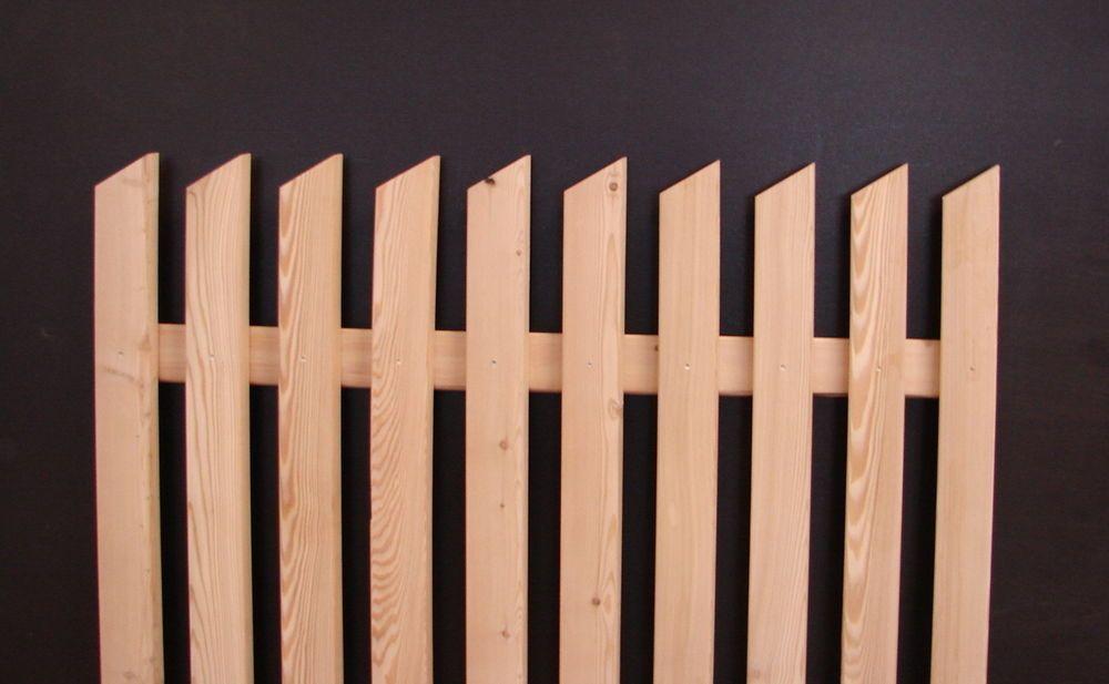 Zaunlatte Zaun Holzzaun Holzzaune Sibirische Larche Stakete