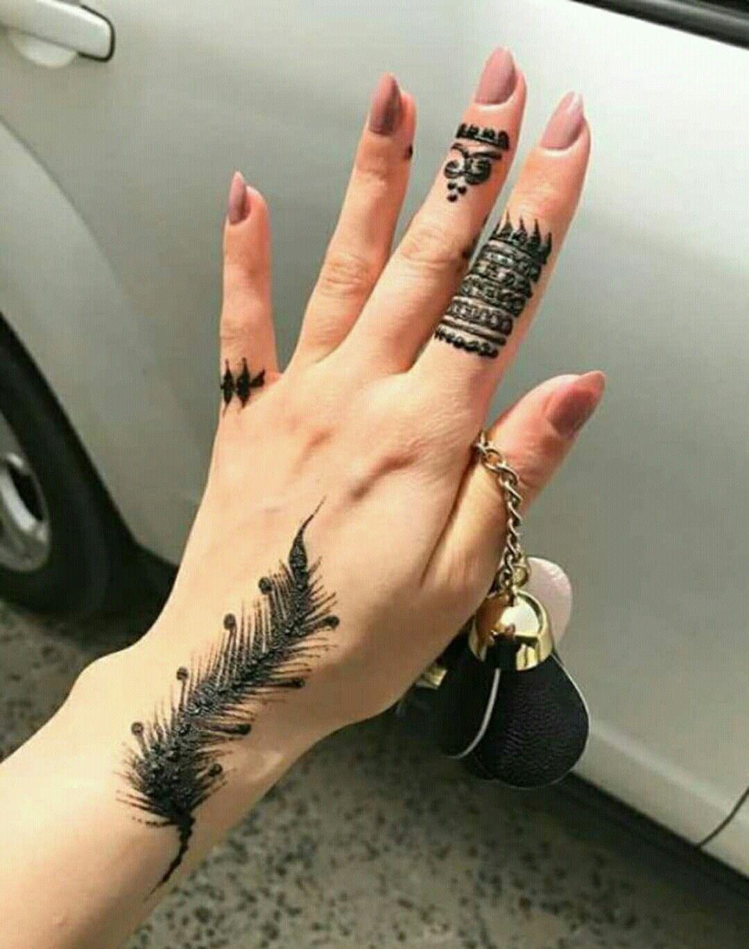 نقش حنا Henna Tattoo Designs Unique Mehndi Designs Henna Designs