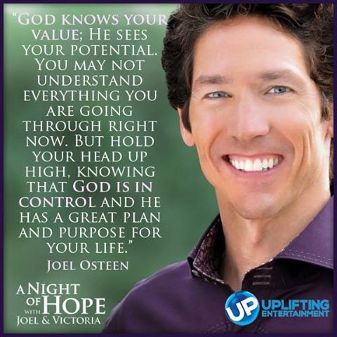 A Good Boost For A Challenging Day Joel Osteen Quotes Joel Osteen God Loves Me