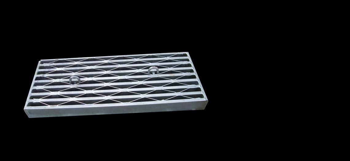 Best Anti Slip Steel Bar Grating Stair Treads Galvanized Steel 400 x 300