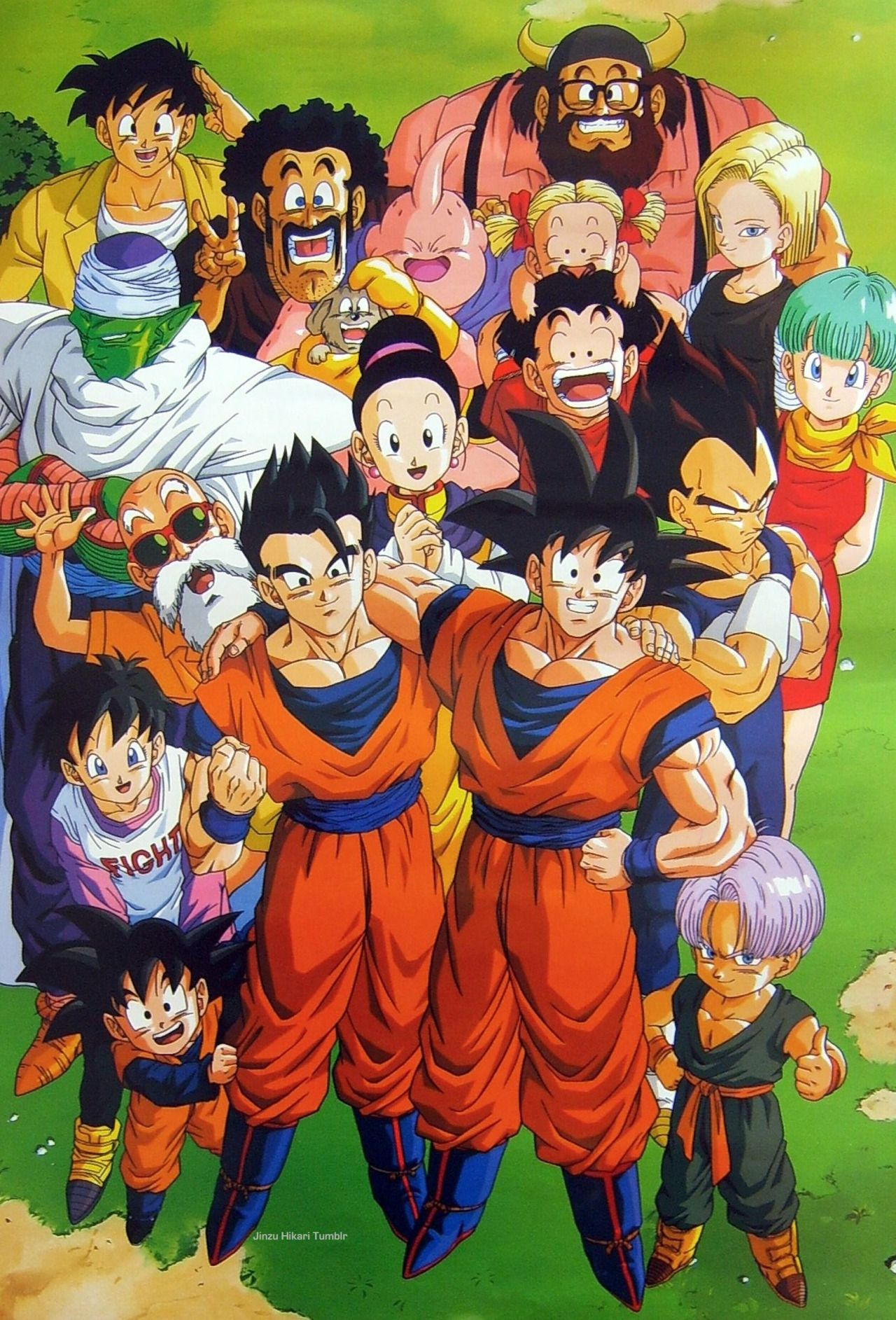 80s90sdragonballart Personajes De Dragon Ball Dragon Ball Dragones